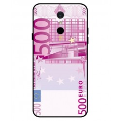 Durable 500 Euro Note Cover For LG Q7