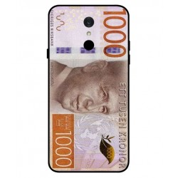 Durable 1000Kr Sweden Note Cover For LG Q7