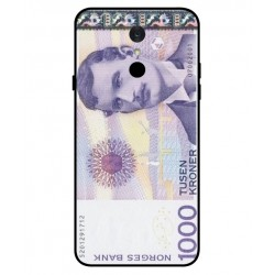 1000 Norwegian Kroner Note Cover For LG Q7