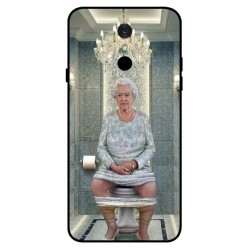 Durable Queen Elizabeth On The Toilet Cover For LG Q7