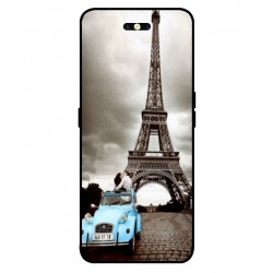 Durable Paris Eiffel Tower Cover For Oppo Find X