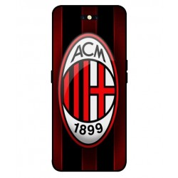 Durable AC Milan Cover For Oppo Find X