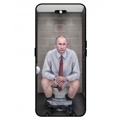 Durable Vladimir Putin On The Toilet Cover For Oppo Find X