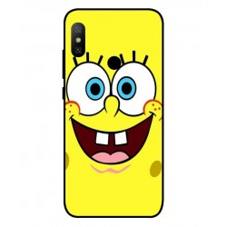 Durable SpongeBob Cover For Xiaomi Mi A2 Lite