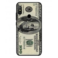 Durable 100 Dollar Note Cover For Xiaomi Mi A2 Lite