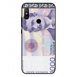 1000 Norwegian Kroner Note Cover For Xiaomi Mi A2 Lite