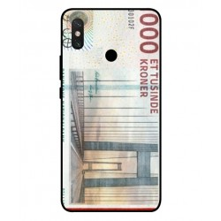 1000 Danish Kroner Note Cover For Xiaomi Mi Max 3