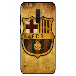 Durable FC Barcelona Cover For Xiaomi Pocophone F1
