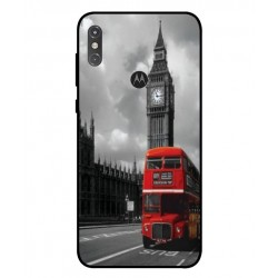 Durable London Cover For Motorola One Power P30 Note