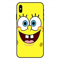 Durable SpongeBob Cover For iPhone XS