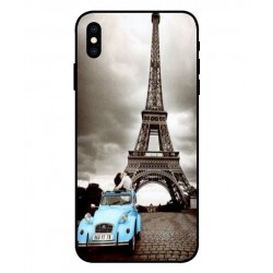 Durable Paris Eiffel Tower Cover For iPhone XS
