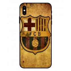 Durable FC Barcelona Cover For iPhone XS