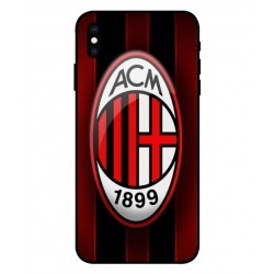 Durable AC Milan Cover For iPhone XS Max