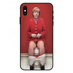 Angela Merkel Sul Gabinetto Cover Per iPhone XS Max