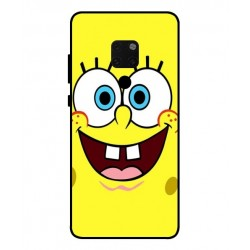 Durable SpongeBob Cover For Huawei Mate 20