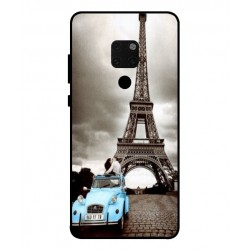 Durable Paris Eiffel Tower Cover For Huawei Mate 20