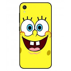 Durable SpongeBob Cover For Asus ZenFone Lite L1 ZA551KL