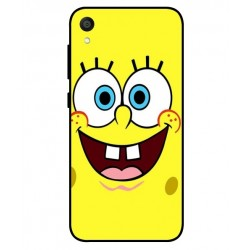 Durable SpongeBob Cover For Asus ZenFone Live L1 ZA550KL