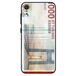 1000 Danish Kroner Note Cover For Asus ZenFone Live L1 ZA550KL