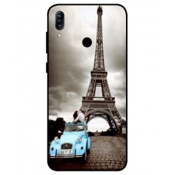 Durable Paris Eiffel Tower Cover For Asus Zenfone Max M2 ZB633KL