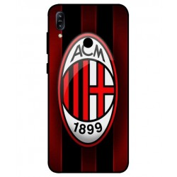 Durable AC Milan Cover For Asus Zenfone Max M2 ZB633KL