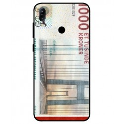 1000 Danish Kroner Note Cover For Asus Zenfone Max M2 ZB633KL