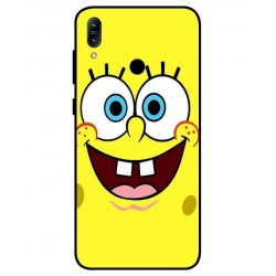 Durable SpongeBob Cover For Asus Zenfone Max Pro M1 ZB601KL
