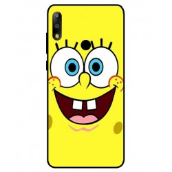 Durable SpongeBob Cover For Asus Zenfone Max Pro M2 ZB631KL