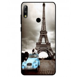 Durable Paris Eiffel Tower Cover For Asus Zenfone Max Pro M2 ZB631KL