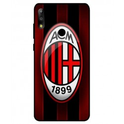 Durable AC Milan Cover For Asus Zenfone Max Pro M2 ZB631KL