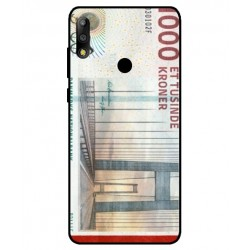 1000 Danish Kroner Note Cover For Asus Zenfone Max Pro M2 ZB631KL