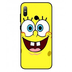 Durable SpongeBob Cover For HTC U12 Life