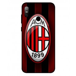 Durable AC Milan Cover For HTC U12 Life