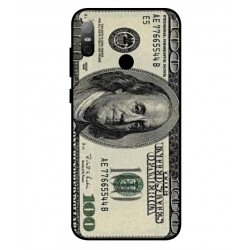 Durable 100 Dollar Note Cover For HTC U12 Life