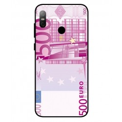 Durable 500 Euro Note Cover For HTC U12 Life