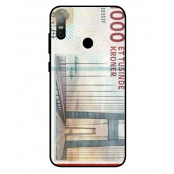 1000 Danish Kroner Note Cover For HTC U12 Life
