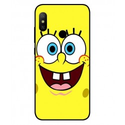 Durable SpongeBob Cover For Xiaomi Redmi Note 6 Pro