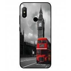 Durable London Cover For Xiaomi Redmi Note 6 Pro