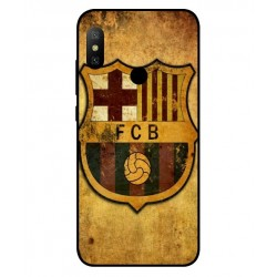 Durable FC Barcelona Cover For Xiaomi Redmi Note 6 Pro