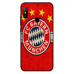 Durable Bayern De Munich Cover For Xiaomi Redmi Note 6 Pro