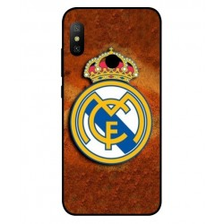 Durable Real Madrid Cover For Xiaomi Redmi Note 6 Pro
