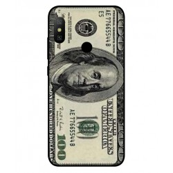 Durable 100 Dollar Note Cover For Xiaomi Redmi Note 6 Pro