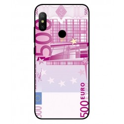 Durable 500 Euro Note Cover For Xiaomi Redmi Note 6 Pro