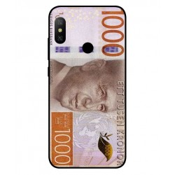 Durable 1000Kr Sweden Note Cover For Xiaomi Redmi Note 6 Pro