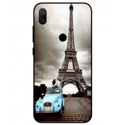 Durable Paris Eiffel Tower Cover For Xiaomi Mi Play