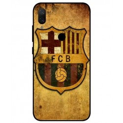 Durable FC Barcelona Cover For Xiaomi Mi Play