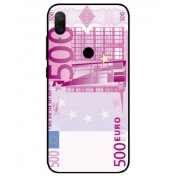 Durable 500 Euro Note Cover For Xiaomi Mi Play