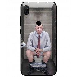 Durable Vladimir Putin On The Toilet Cover For Xiaomi Mi Play