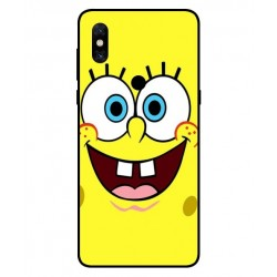 Durable SpongeBob Cover For Xiaomi Mi Mix 3