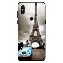 Durable Paris Eiffel Tower Cover For Xiaomi Mi Mix 3